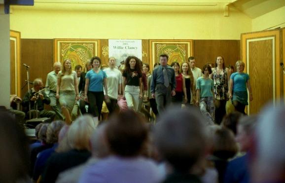 ダンスクラスの発表会