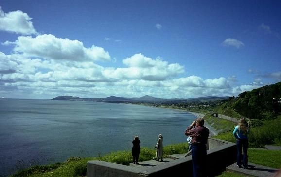 美しい湖でした。ウィックローバスツアーにて